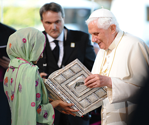 Pope and koran