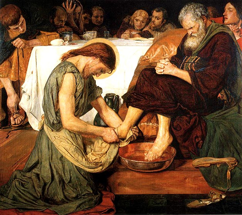 HOMILY FOR HOLY THURSDAY 2011--ALTHOUGH IT IS THE NIGHT - Anamchara